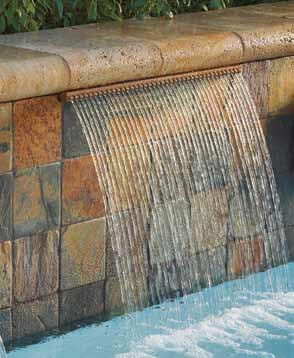 Pentair Pool Wasserfall MagicFalls