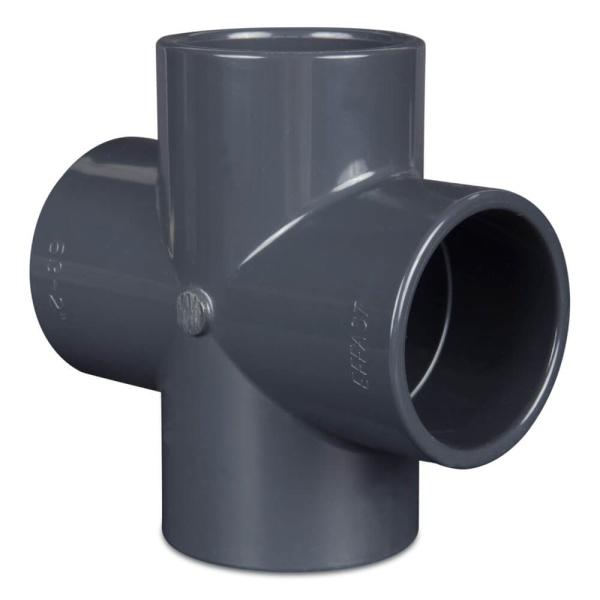 PVC Rohr Kreuzstück 90º