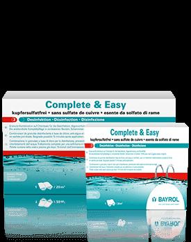 Complete & Easy Chlor Shop Poolwasserpflege