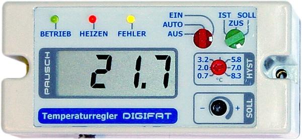 Ctk + Digifat Pausch Temperaturregler